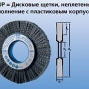 Дисковые щетки, неплетеные RBUP Исполнение с пластиковым корпусом фото