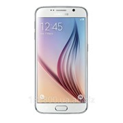 Телефон Мобильный Samsung G920FD Galaxy S6 Duos 64GB (White Pearl) фото