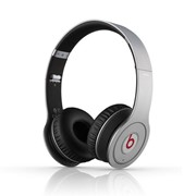 Wireless Beats by Dr. Dre наушники полноразмерные bluetooth , Hi-Fi, Mic., оголовье, Серебристо-чёрн фото