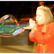 Гигантские мыльные пузыри фото