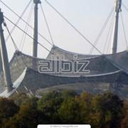 Металлические конструкции для стадионов крытых фото