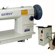 Игольная машина двухниточного челночного стежка с унисонным продвижением GEMSY GEM 0818 (ASU 27-75 POWERMAX) фото