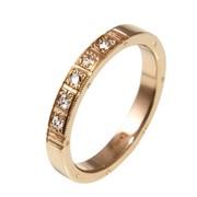 Кольцо обручальное вес 3.58гр, вставки:бриллианты 5 Кр 57-0.07ct 2/2,цвет желтый, артикул VL-30 фото