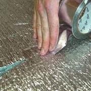 Лента алюминиевая самоклеящаяся ЛАС фото