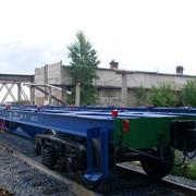 Платформы железнодорожные фитинговые фото