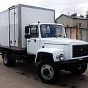 Фургон каркасный изотермический ГАЗ 33086 (Земляк), 4х4 фото