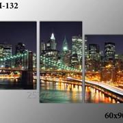 Картина модульная М-132, размер 60х90 фото
