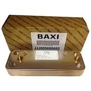 Запасные части BAXI Теплообменник ГВС на 10 пластин фото
