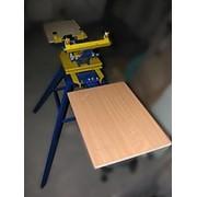 Плоскопечатная карусель 2х2-оборудование для шелкографии фото