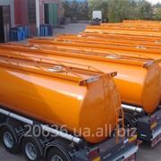 Транспортные услуги бензовозы 32-45 м3 (7-11 секций) фото