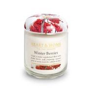 Heart&Home, Свеча «Зимние ягоды», маленькая, 110 г фото