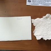 Целлюлоза волокнистая, вторичная, 100% белая фото
