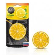 """Ароматизатор подвесной AIRLINE пластик """"Сочный фрукт"""" лимон AFFR092 фото"""