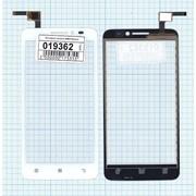 Сенсорное стекло (тачскрин) для Lenovo A606 белое, Диагональ 5 фото