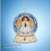 Набор для вышивания Angel Snow Globe фото