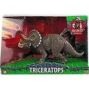 HTI Фигурка динозавра DINO WORLD Трицератопс 16 см (1374171.UNID) фото
