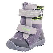 157001-42 серый ботинки ясельно-малодетские войлок Р-р 23 фото