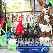 Оформление праздника воздушными шарами фото