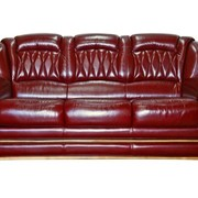 Диван кожаный Бакарди (3M) фото