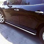 Пороги Mazda CX-7 2006 - наст.время (труба 53 мм) фото