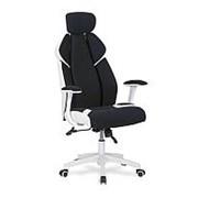 Кресло компьютерное Halmar CHRONO (черно-белый) фото