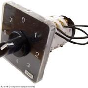 Пакетный переключатель АсКО ПКП Е9 2р 16А 8-позиционный для замеров напряжения фото