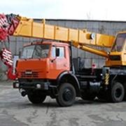 Аренда автокрана Галичанин - 25 тонн фото