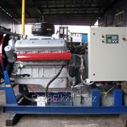 Стационарный дизельный электроагрегат на открытой раме АД200С-Т400-1Р фото