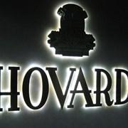Объемные буквы с подсветкой «контражур» фото