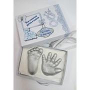2Д слепки малыша в коробочке фото