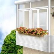 Установка балконных рам фото