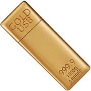 Накопитель, Flash USB Drive Others GoldBar 1GB, USB 2.0, FD-Gold1Gb. фото