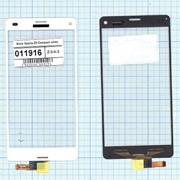 Сенсорное стекло (тачскрин) для Sony Xperia Z3 Compact white, Диагональ 4.6, 1280x720 (SD+) фото