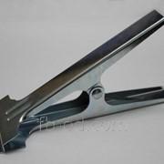 Зажим-прищепка для ткани металлическая №1 фото
