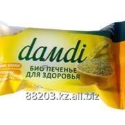 Печенье «DАMDI» ОТРУБНОЕ БЕЗ САХАРА. флоу-пак 50 г. фото