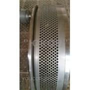 Ремонт матриц грануляторов. Реставрация матриц фото