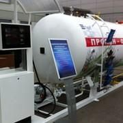 Модуль для заправки автомобилей сжиженным газом ГРК 5 (АГЗС) с топливно раздаточной колонкой SHELF 1 фото