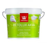 Tikkurila Betolux Akva, полиуретано-акрилатная для пола, База С, 0.9 л. фото