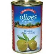 Оливки, маслины маринованные. Оливки с косточкой Viva Oliva фото