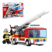 Конструктор «Пожарная машина», 196 деталей фото
