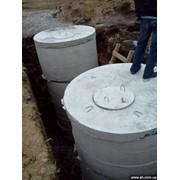 Септик для загородного дома, коттеджа, дачи, выгребная яма, фото
