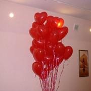 """Шар """"Сердечко"""" (гелий), Шарики воздушные, надувные, Композиции из воздушных шаров фото"""