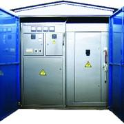 Установка КТП (комплектные трансформаторные подстанции) фото