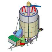 Мобильные зерносушилки фото