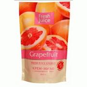Жидкое крем-мыло Fresh Juice Грейпфрут дой-пак 460 мл фото