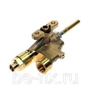 Кран газовый средней горелки для газовой плиты Gorenje 304981. Оригинал фото