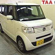 Микровэн HONDA N BOX кузов JF1 класса минивэн модификация G год выпуска 2012 пробег 128 тыс км цвет белый фото