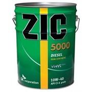 Полусинтетическое моторное масло ZIC 5000 10W40 - 20л фото