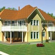 Финский каркасный деревянный дом OM 155 фото