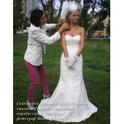 Свадебная причёска и макияж с бесплатным выездом по Киеву фото